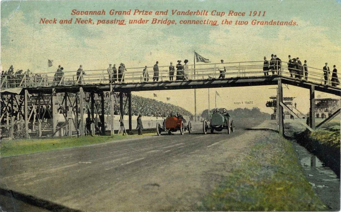 Savannah\'s History of Car Racing - Freeman\'s Rag